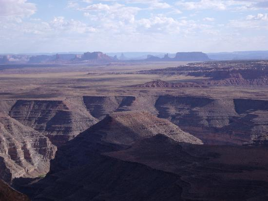 Muley Point Overlook: View from Muley Point