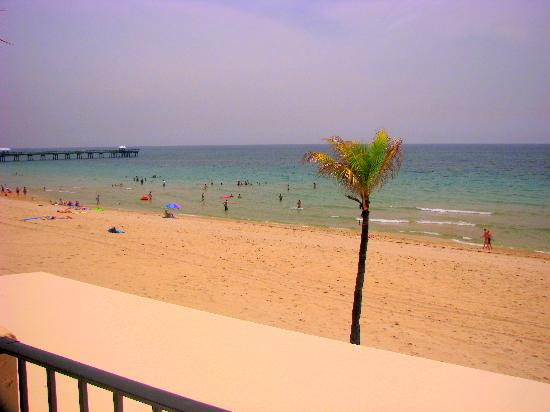 Costa del Sol: north view from balcony