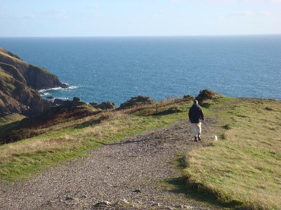 Port Light Hotel: Cliff top walk