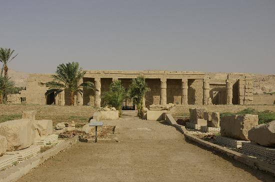 Temple of Seti I: View of the Approach