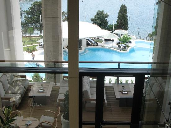 Hotel Monte Mulini: View from reception
