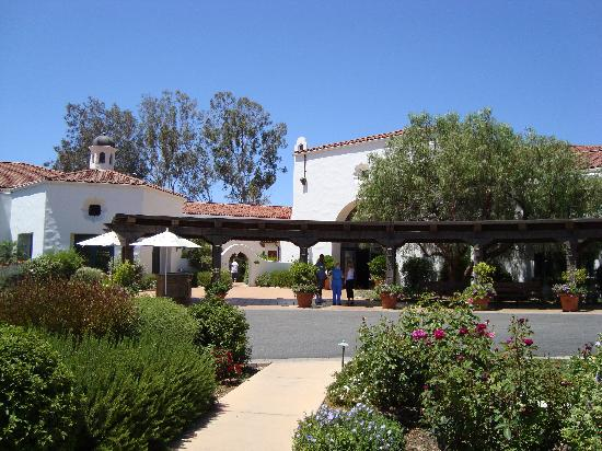 Ojai Valley Inn Vorfahrt Zum Hotel