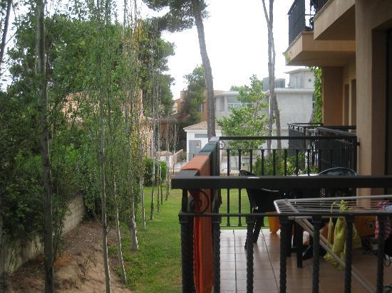 Vell Mari Hotel & Resort : Vue deouis le balcon...