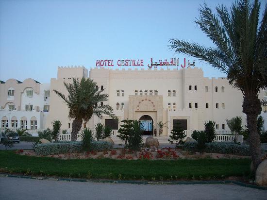Hôtel Djerba Castille : Façade de l'hotel