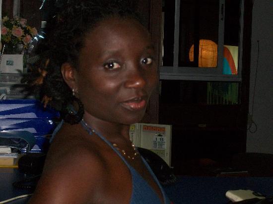 Hotel Residence Inn Paramaribo: standing at the desk