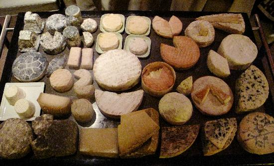 Troisgros : cheese selection