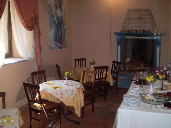 AgriRelais Villa Dei Mulini: sala colazione