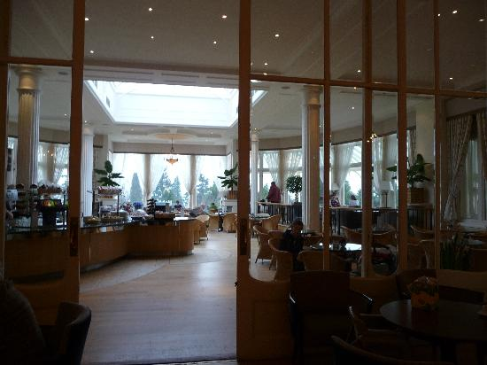 Crieff Hydro Hotel and Resort: Lunch restaurant