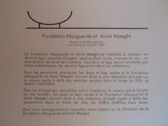 Fondation Maeght : Bio
