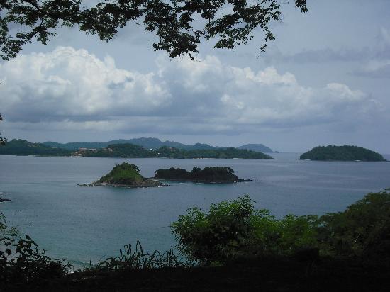 Bahia Esmeralda: Desde la montana de Playa Potrero