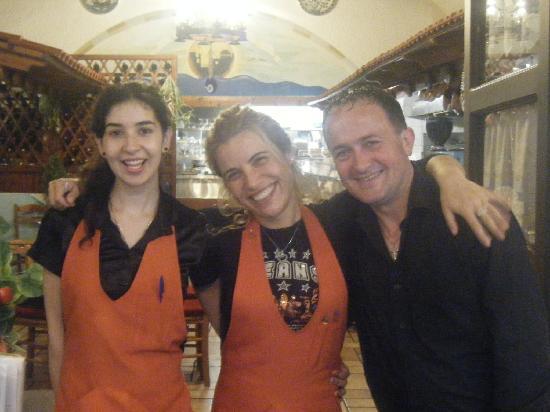 Island Lipsi: Maria, Niki & Marcus