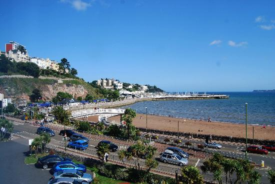 Premier Inn Torquay Hotel : View from 2nd floor room East towards Marina