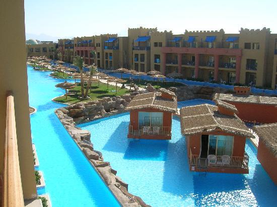 The Bungalows Picture Of Titanic Beach Spa Aqua Park Hurghada Tripadvisor