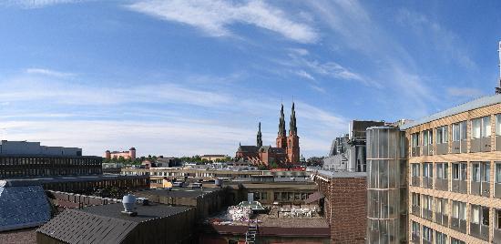 Clarion Hotel Gillet: Utsikten från rummet