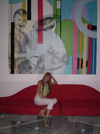 Radisson Hotel Decapolis Miraflores: Lobby, super moderno y minimalista...