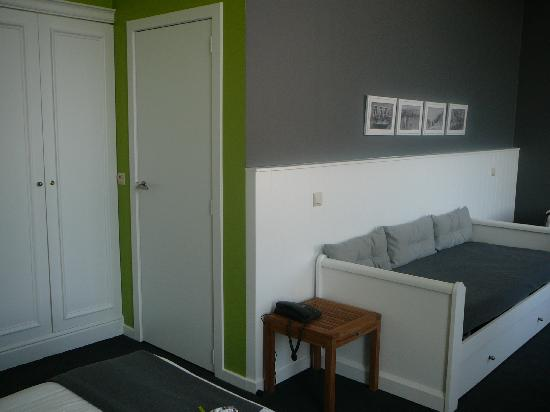 """Hotel Montanus : la chambre """"Elephant et bambou"""" (101)"""