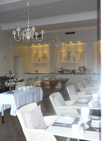 Hotel Montanus: la salle de déjeuner