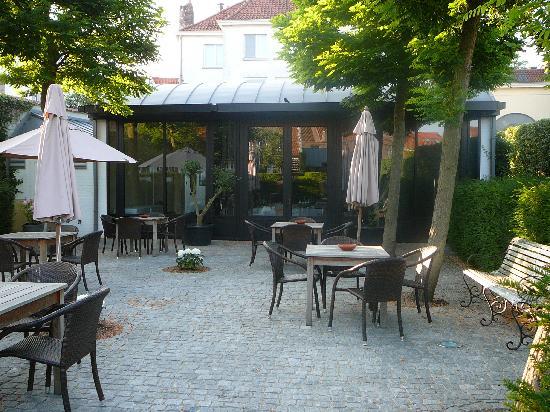 هوتل مونتانس: la 2eme terrasse
