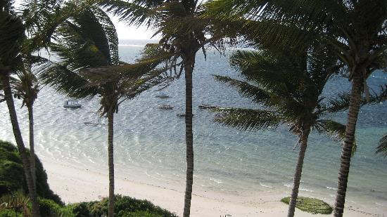 Mombasa Beach Hotel: Views from our balcony