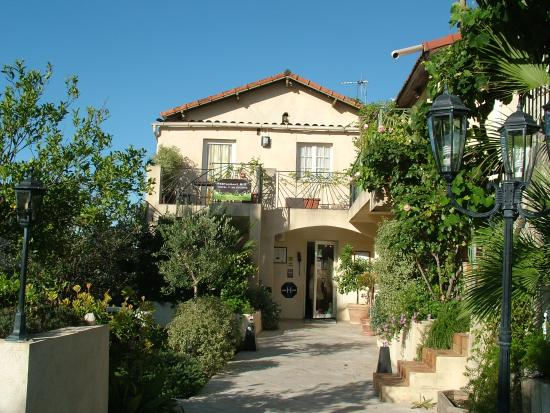 La Colle sur Loup, France : ingresso de La Bastide Gourmand