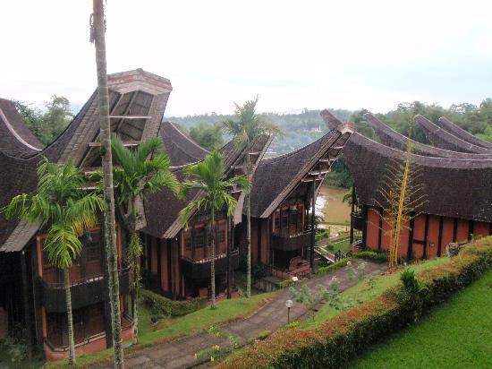 Toraja Heritage Hotel: Vista desde la habitación