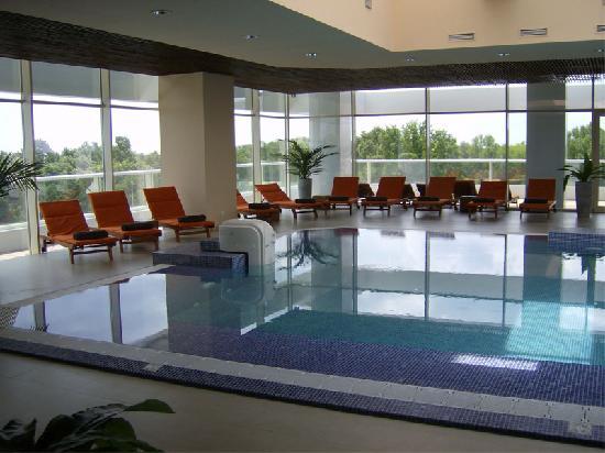Cocor Spa Hotel : Piscinne d'eau douce resalée