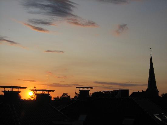 Holwerd, Nederland: Sunset