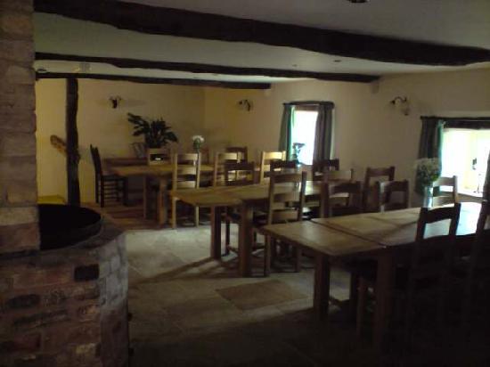 The Old Homestead: Breakfast area