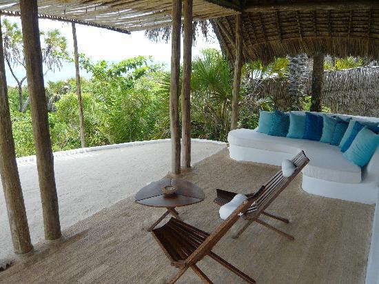 Ras Kutani: our private terrace