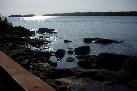 Isle Royale National Park, MI: view from our room