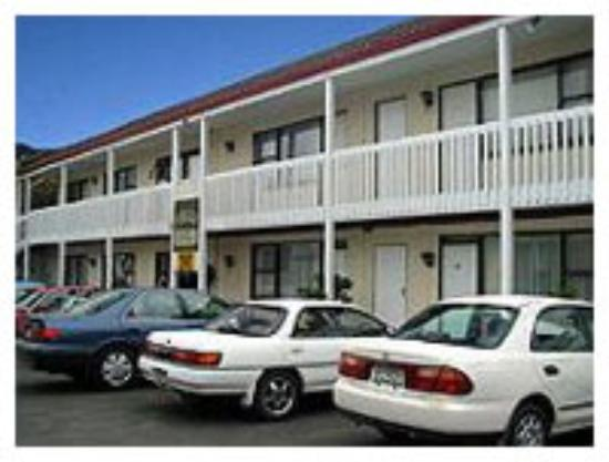 Sea Isle City, Нью-Джерси: motel exterior (from motel site)