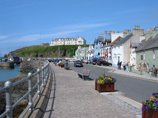 Rhins of Galloway: Port Patrick promenade