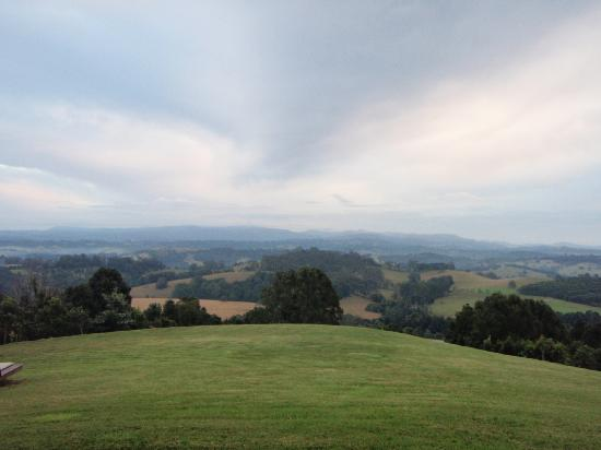 Gaia Retreat & Spa: The beautiful countryside around Gaia.