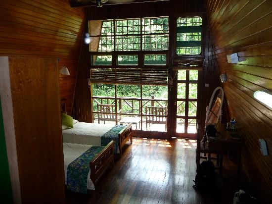 ‪‪Tabin Wildlife Resort‬: Inside our room‬