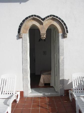 Bel Soggiorno Hotel: la porta finestra che da sulla terrazza
