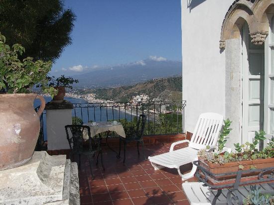 Bel Soggiorno Hotel: la terrazza della camera 10