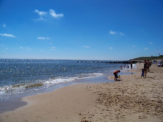 Hopton Holiday Park - Haven: Beach at park