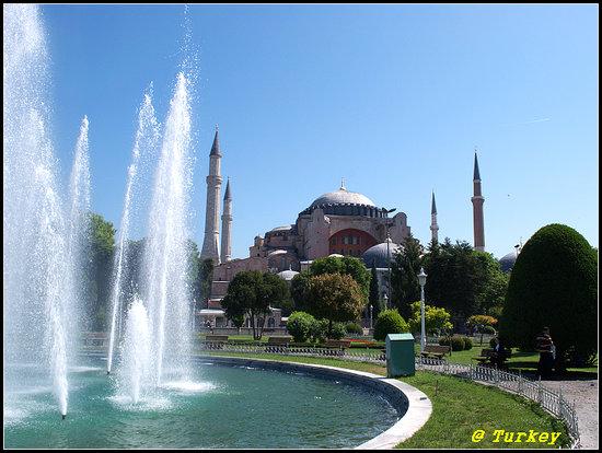 Istanbul, Tyrkiet: sofia mosque