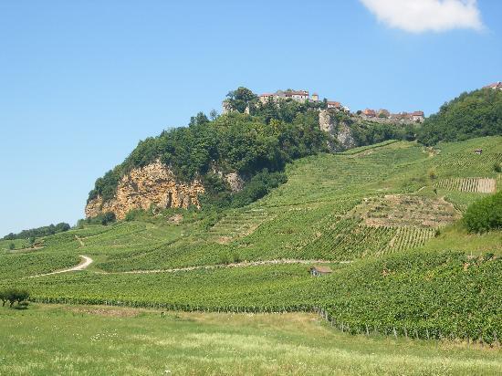 Jura, France: Chateau Chalon