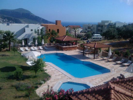 Hotel Asiyan: Asiyan pool view from our room