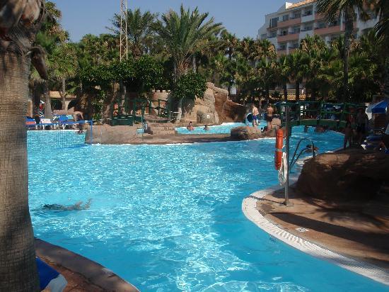 Playasol Spa Hotel: Vistas desde la terraza de la habitacion