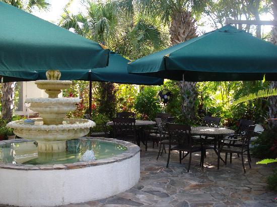 Island Garden Villas: Courtyard