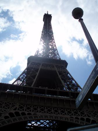 PARISCityVISION : View from the base of Eiffel Tower