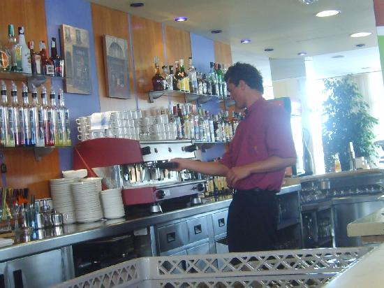 Hotel Mar Blau: Personnel super sympa