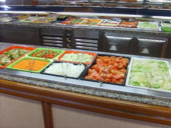 Hotel Mar Blau: buffet salade