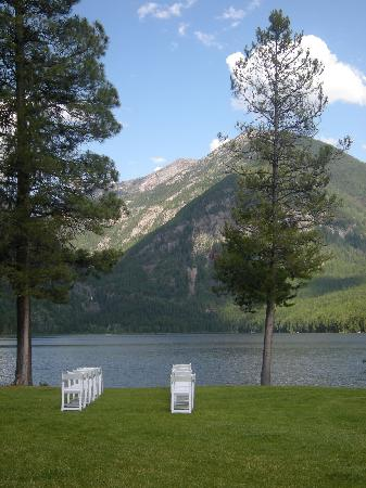 Holland Lake Lodge: View from the lodge