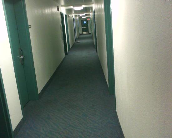 Motel 6 Merrillville: Dirty Hallways