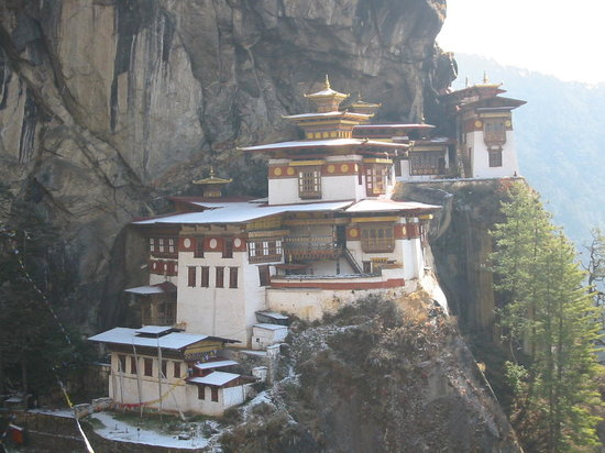 ブータン, 崖の僧院
