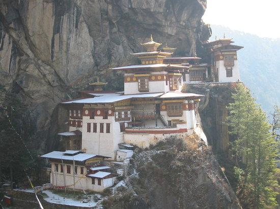 Bhutan: 崖の僧院