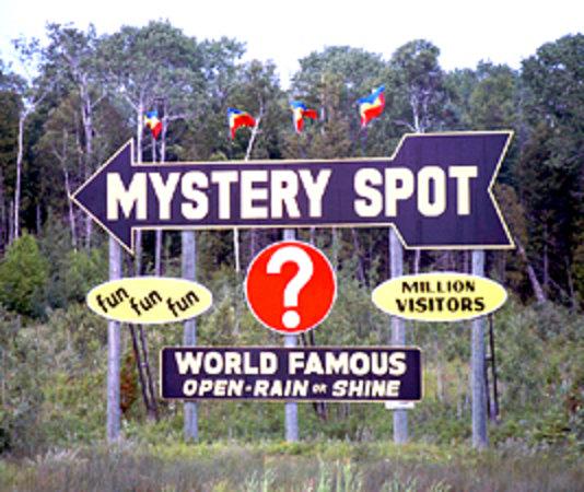 Saint Ignace, MI: Mystery Spot, St. Ignace